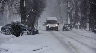Sparaliżowane drogi, autostrady i obwodnice. Zima w Polsce daje się we znaki