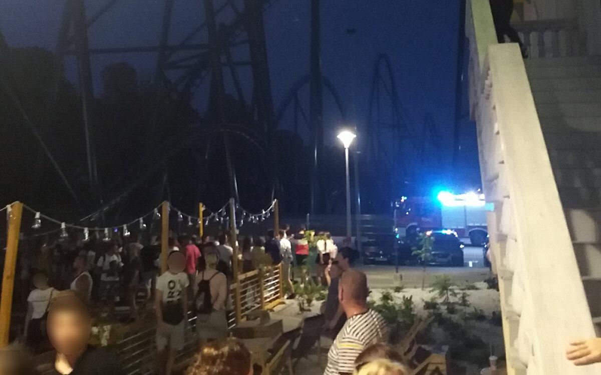 Wypadek w parku rozrywki w Zatorze.