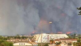 Pożary lasów w Turcji