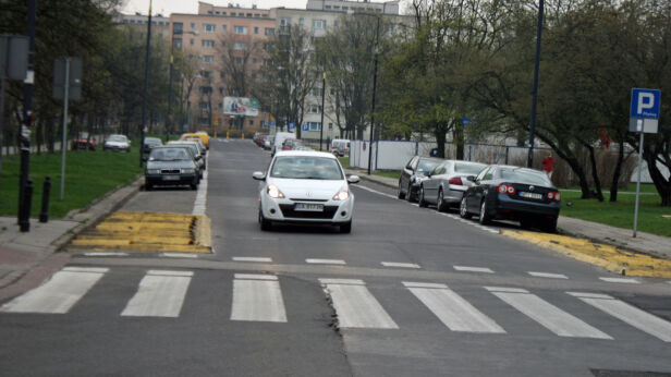Na Muranowie wolniej? Dawid Krysztofiński / tvnwarszawa.pl