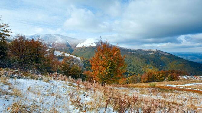 Prognoza pogody na dziś: miejscami niedziela będzie biała. Pojawi się deszcz ze śniegiem i śnieg