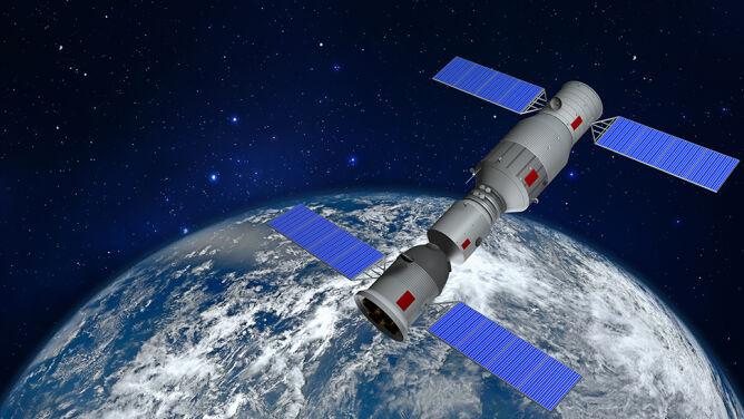 Chińska stacja kosmiczna będzie spadać w kierunku Ziemi. <br />Los jej bliźniaczki śledziliście z zapartym tchem
