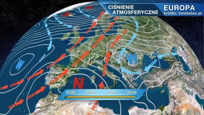 Pogodą w Polsce rządzi wyż Sarena