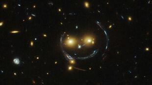 Hubble zobaczył uśmiech nie z tej ziemi
