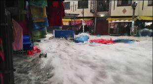 Powodzie w Boliwii