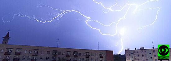 Tysiące osób bez prądu, zniszczone dachy. Środa przyniosła niebezpieczną pogodę