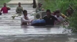 Burza tropikalna Cristobal uderzyła w Meksyk