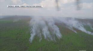 Trwa gaszenie pożarów na Syberii