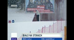 Sytuacja narciarska w Zakopanem (TVN24)